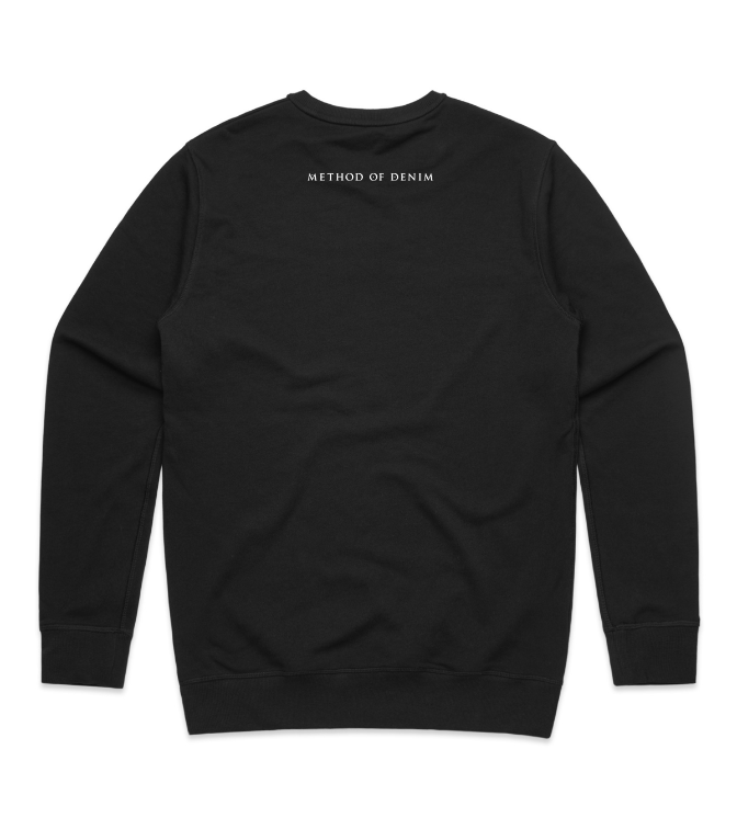 Method of Denim Custom Apparel Beyond broke - Custom Sweatshirt (3982292549718)