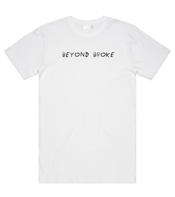 Method of Denim Custom Apparel Beyond Broke - Custom T-shirt