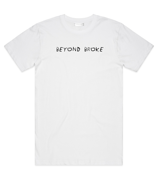 Method of Denim Custom Apparel Beyond Broke - Custom T-shirt (4327364427862)