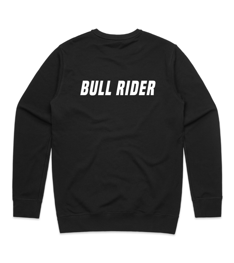 Method of Denim Custom Apparel Bull Rider Crew Sweatshirt