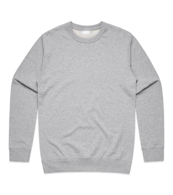 Method of Denim Custom Apparel Custom Crew Jumper - Grey (3825311744086)