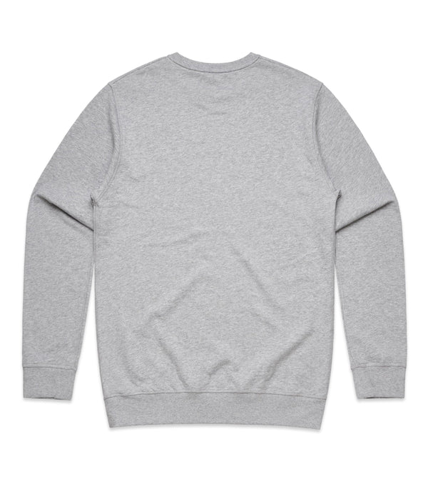 Method of Denim Custom Apparel Custom Crew Jumper - Grey 1 (3825311744086)