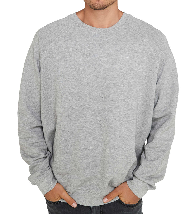 Method of Denim Custom Apparel Custom Crew Jumper - Grey