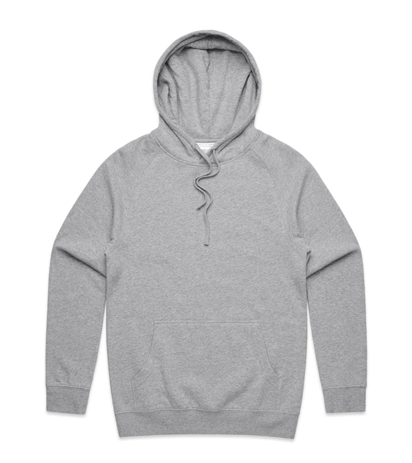 Method of Denim Custom Apparel Custom Hoodie - Grey (3832537546838)