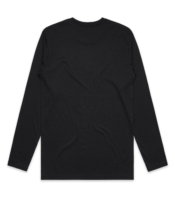 Method of Denim Custom Apparel Custom Long Sleeve T-Shirt Black