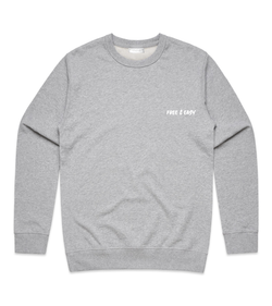 Method of Denim Custom Apparel Free & Easy Crew Sweatshirt