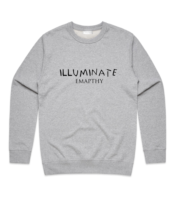 Method of Denim Custom Apparel Illuminate Crew Sweatshirt