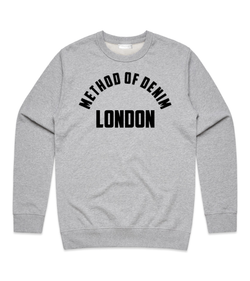Method of Denim Custom Apparel Location - Custom Sweatshirt (3978401939542)