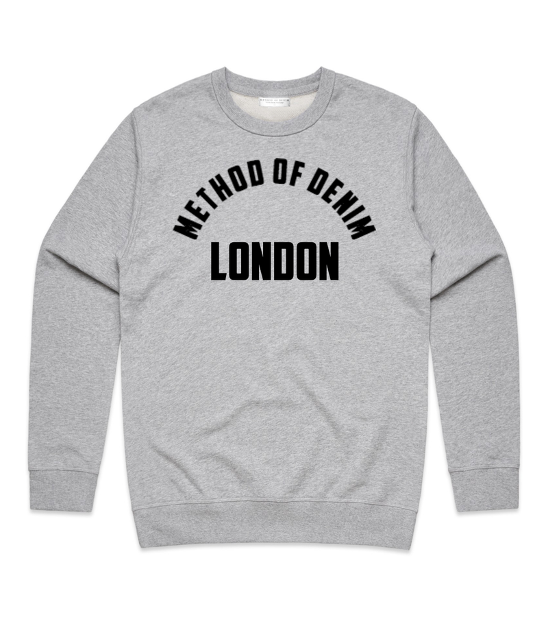 Method of Denim Custom Apparel Location - Custom Sweatshirt