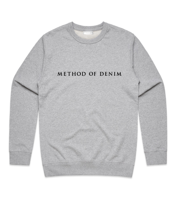 Method of Denim Custom Apparel MOD Crew Sweatshirt - Grey