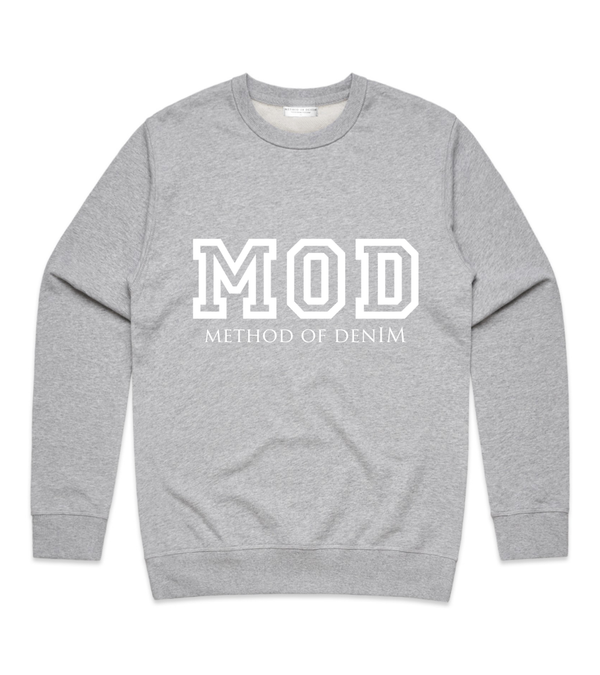 Method of Denim Custom Apparel MOD Vintage Crew Sweatshirt