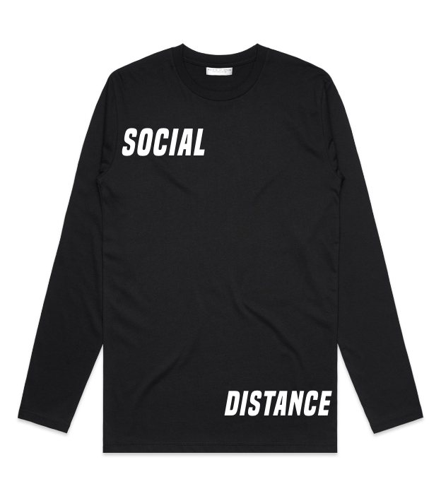 Method of Denim Custom Apparel Social Distance Long Sleeve