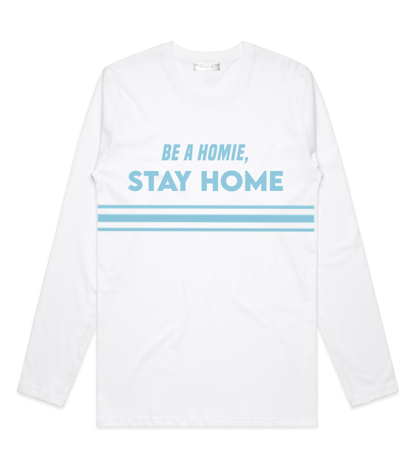 Method of Denim Custom Apparel Stay Home Long Sleeve
