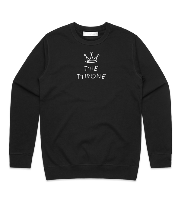 Method of Denim Custom Apparel The Throne - Custom Sweatshirt (3978372218966)