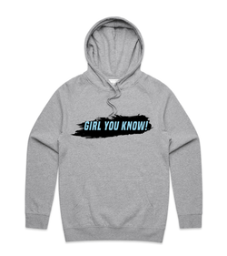 Method of Denim Custom Apparel You Know Hoodie