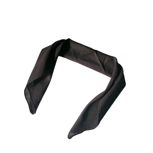Method of Denim Custom Bandana Black