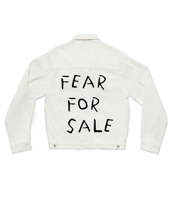 Method of Denim Fear For Sale - Jbomb White (3966100701270)