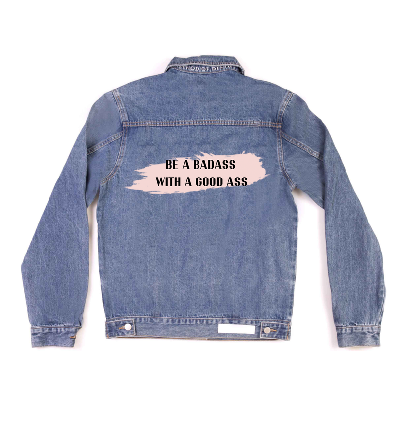 Method of Denim Jacket 'BadAss' Denim Jacket (4602564083798)