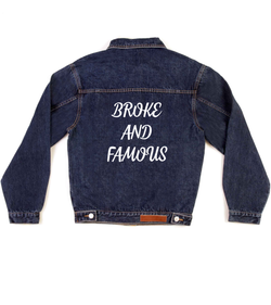 Method of Denim Jacket Broke and Famous (3970888597590)