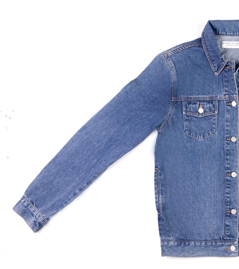 Method of Denim Jacket East 1991 Denim Jacket (4556295307350)
