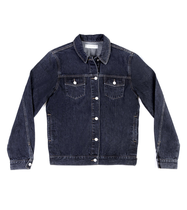 Method of Denim Jacket Free Pour Trucker Jacket - Indigo