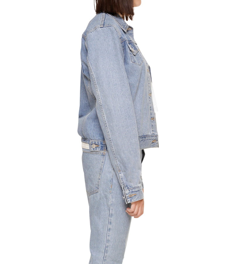 Method of Denim Jacket Free Pour Trucker Jacket - Light Blue (1328102309974)