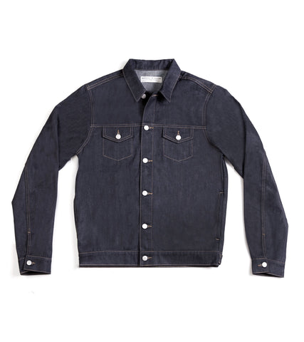 Method of Denim Jacket Free Pour Trucker Jacket - Raw