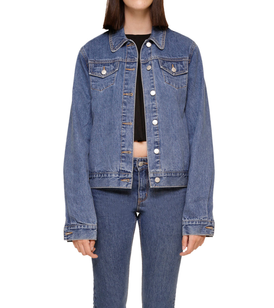 Method of Denim Jacket Free Pour Trucker Jacket - Vintage Blue