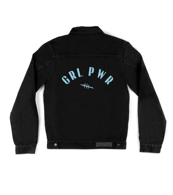 Method of Denim Jacket 'Grl Pwr' Denim Jacket (4610146467926)