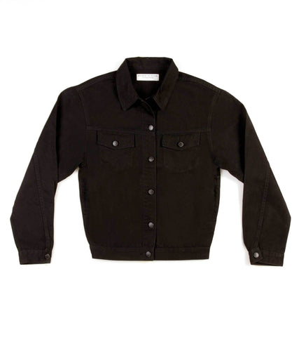 Method of Denim Jacket J Bomb Vintage Jacket - Black