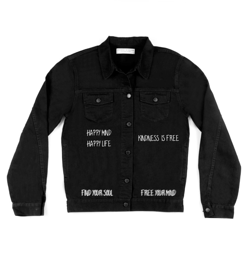 Method of Denim Jacket Jami Logan - Starve The Ego (4021978300502)