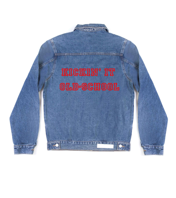 Method of Denim Jacket Kickin' it old-school Denim Jacket