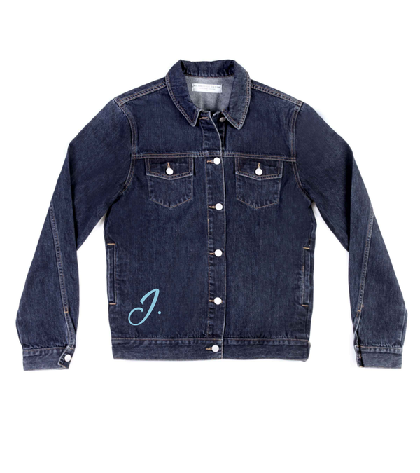 Method of Denim Jacket 'Monogram' Denim Jacket (4603972878422)