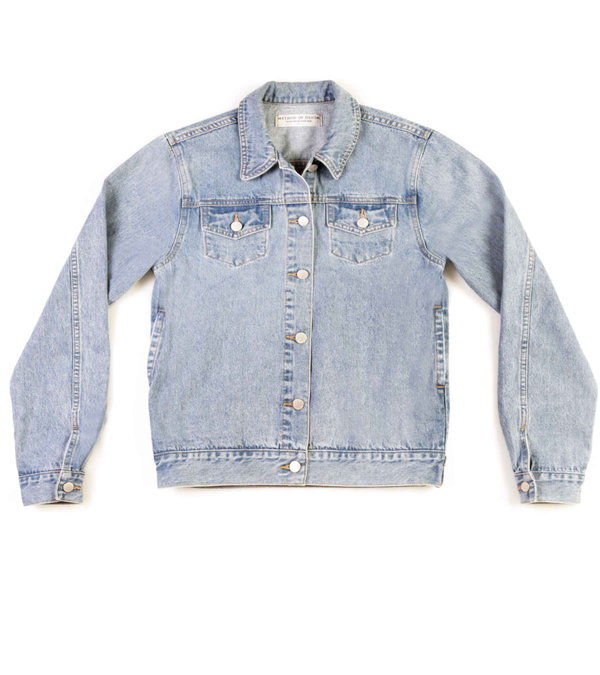 Method of Denim Jacket 'Monogram' Denim Jacket (4603987394646)