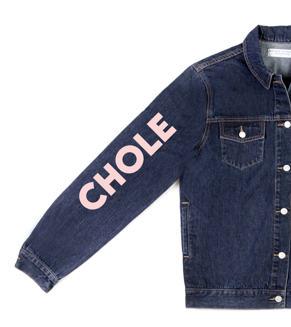 Method of Denim Jacket 'Monogram' Denim Jacket (4603990835286)