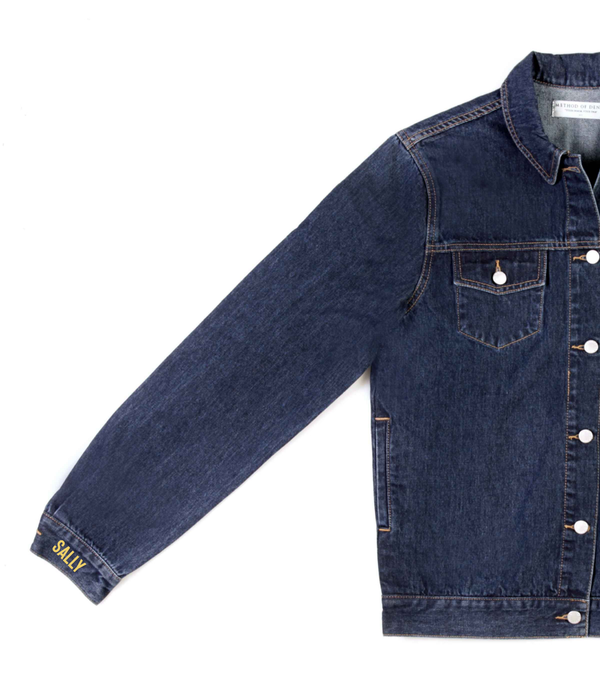 Method of Denim Jacket 'Monogram' Denim Jacket (4603994767446)