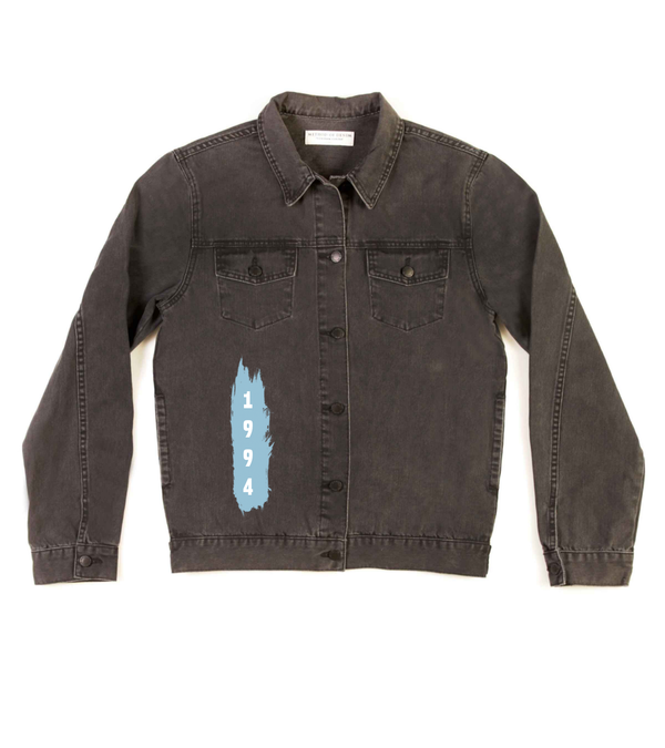 Method of Denim Jacket 'Monogram' Denim Jacket (4604042444886)