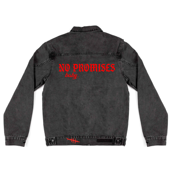 Method of Denim Jacket No Promises Baby (4556220039254)