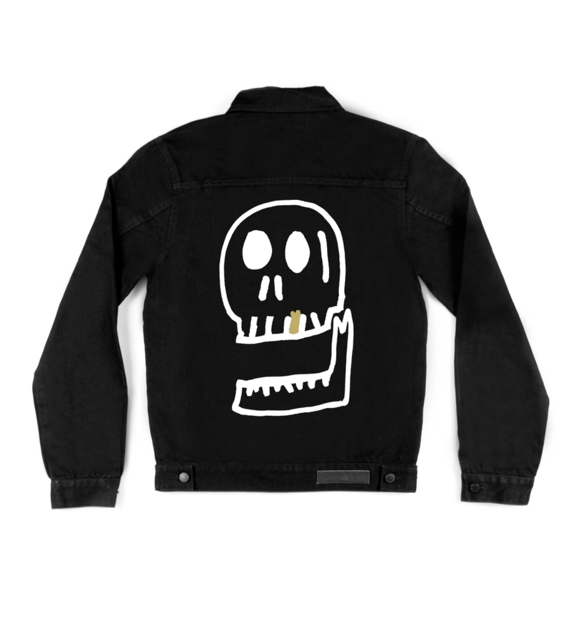 Method of Denim Jacket Pretty Cool Skull Jacket