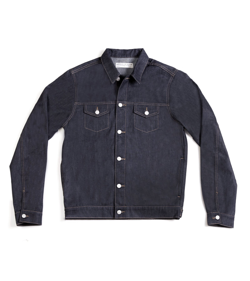 Method of Denim Jacket Rebel Yell Trucker Jacket - Raw