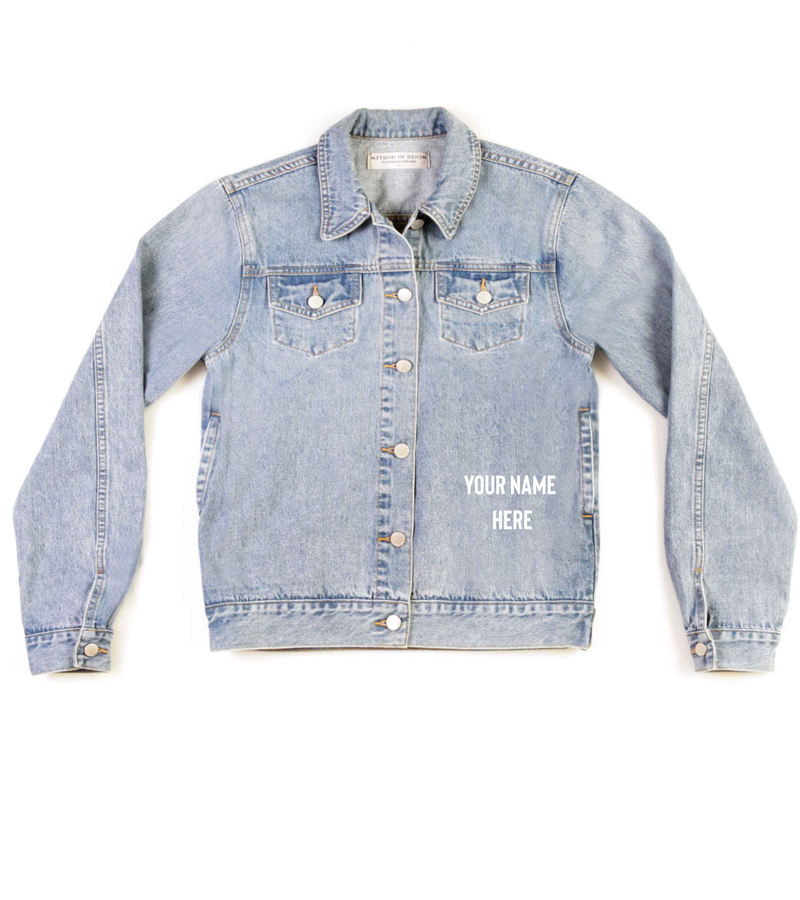 Method of Denim Jacket 'West Coastin'' Denim Jacket