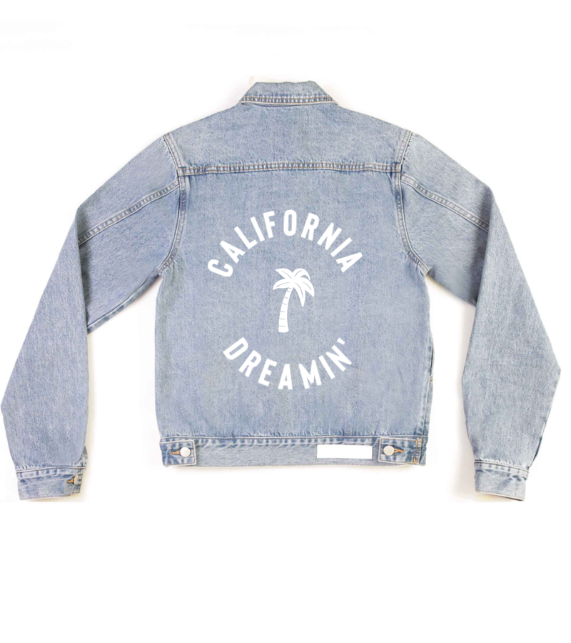 Method of Denim Jacket 'West Coastin'' Denim Jacket (4566173679702)