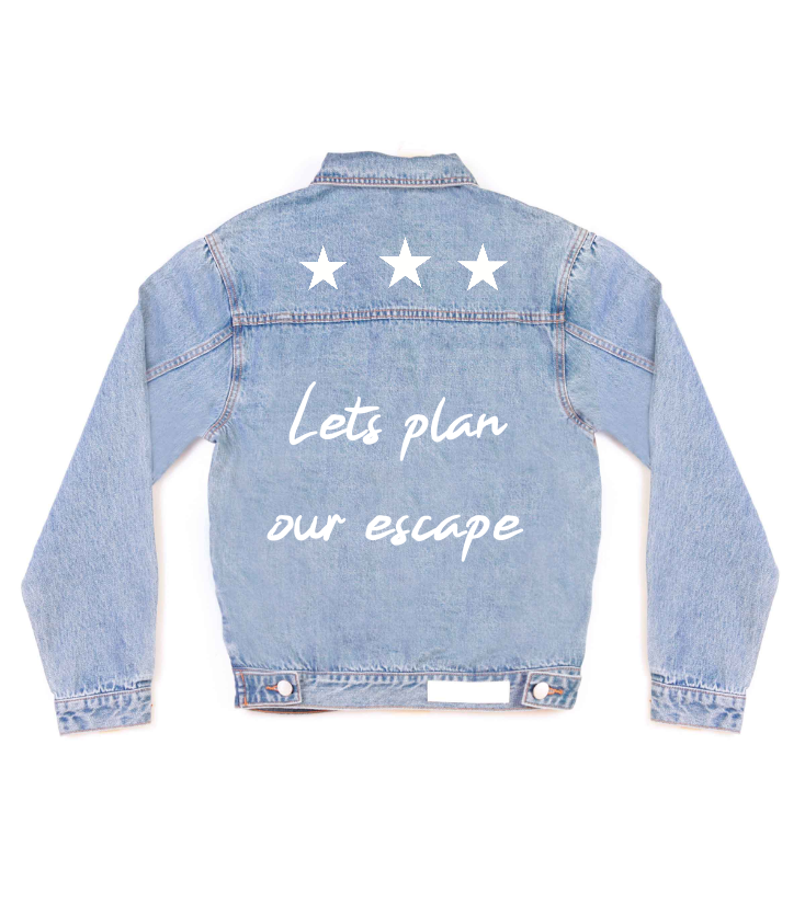 Method of Denim Let's plan our escape (3967677038678)