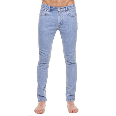 Method of Denim Mens Denim Jeans Whiskey Skinny Jeans - Light Blue