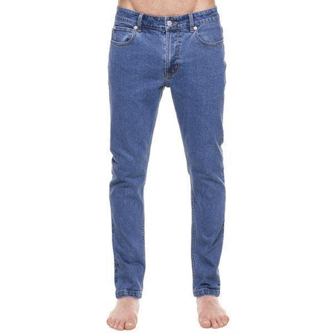 Method of Denim Mens Denim Jeans Whiskey Skinny Jeans - Vintage Blue