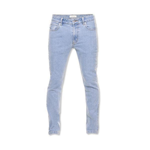 Method of Denim Mens Denim Sailors Slim Jeans - Light Blue