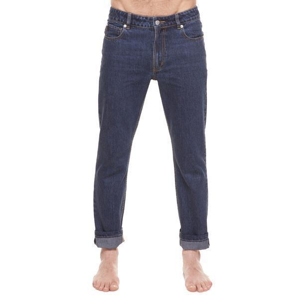 Method of Denim Mens Denim Straight Shooter Jeans - Indigo