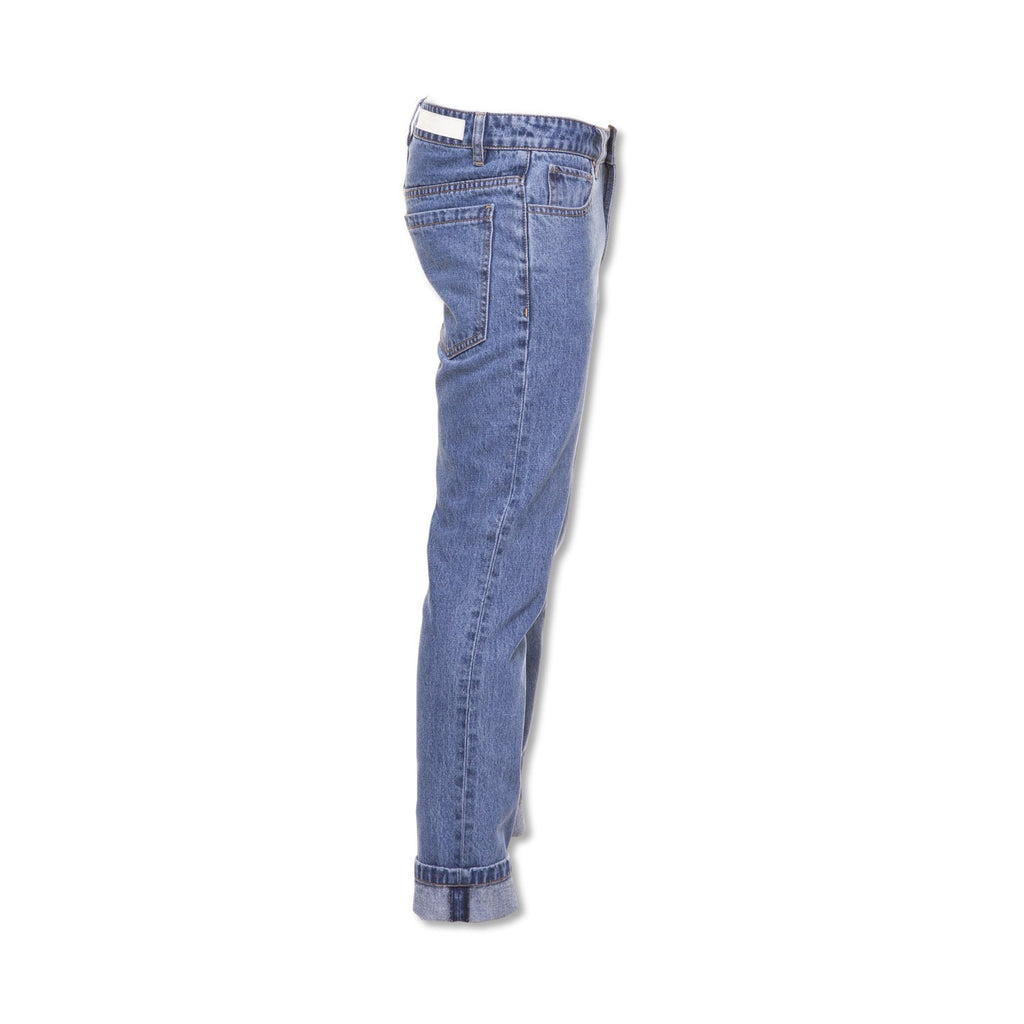 Method of Denim Mens Denim Straight Shooter Jeans - Vintage Blue