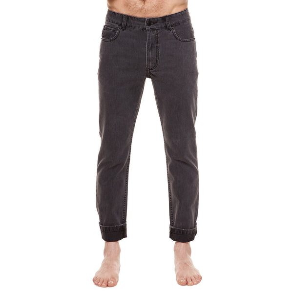 Method of Denim Mens Denim Straight Shooter Jeans - Washed Black