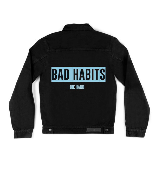 Method of Denim Mens Jackets Bad Habits Denim Jacket